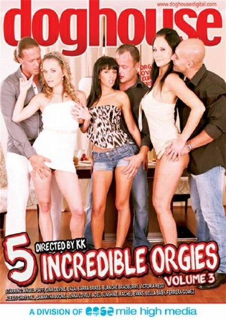 5 Incredible Orgies 3 (2016)