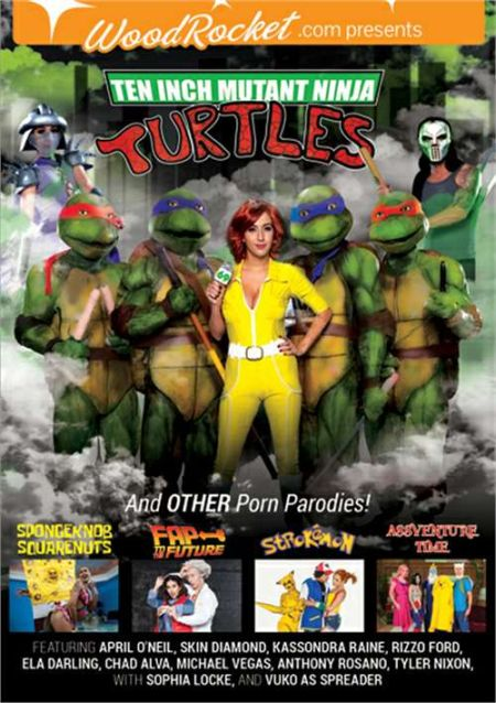 Ten Inch Mutant Ninja Turtles and Other Porn Parodies [2016]
