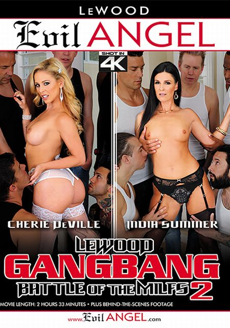 LeWood Gangbang: Battle Of The MILFs 2 [2017]
