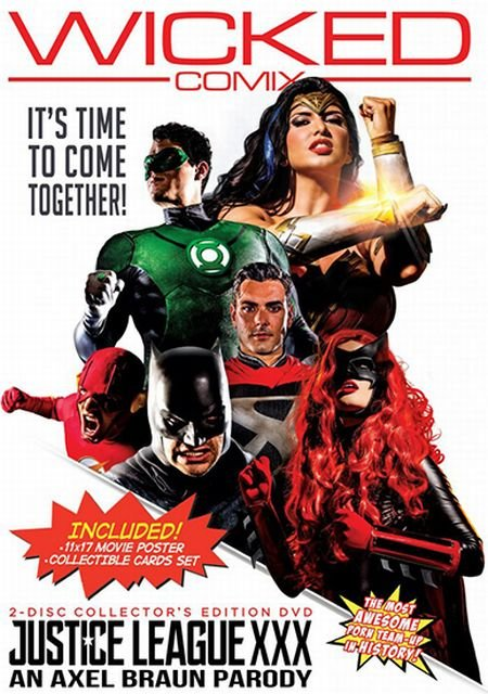 Justice League XXX - An Axel Braun Parody (2017)