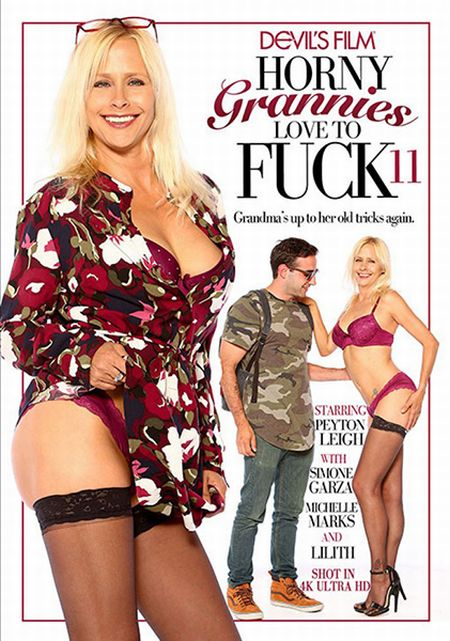 Horny Grannies Love To Fuck 11 [2017]