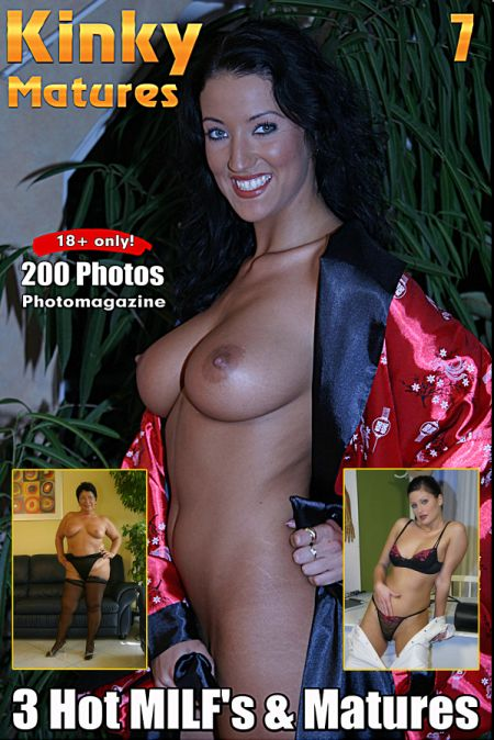 Kinky Matures Adult Photo Magazine - Volume 7 (2018)