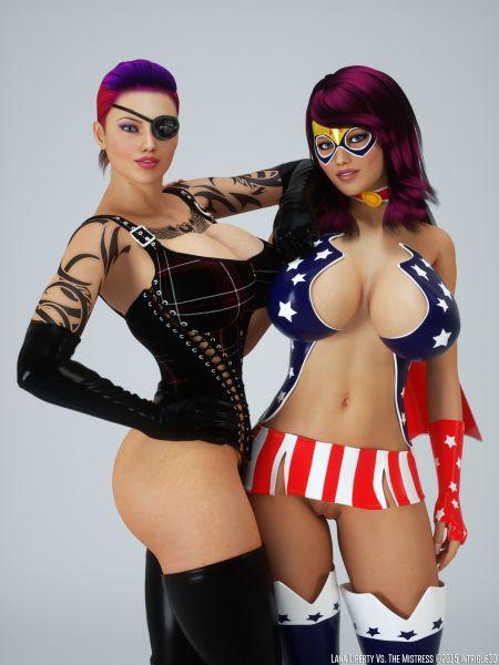 Lana Liberty Vs. The Mistress
