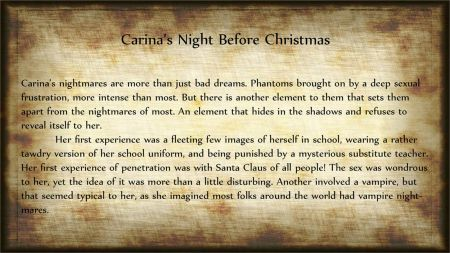 Carina's Night Before Christmas