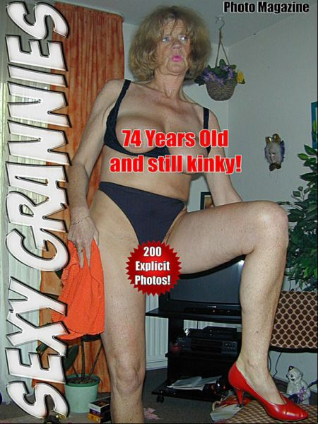 Sexy Grannies Adult Photo Magazine - Volume 1 (2017)