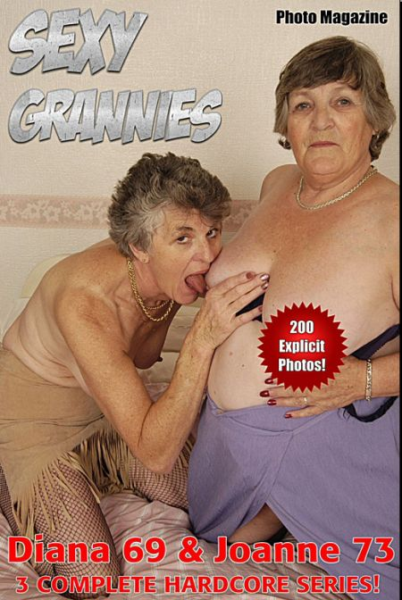 Sexy Grannies Adult Photo Magazine - Volume 2 (2017)