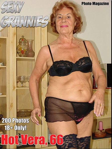 Sexy Grannies Adult Photo Magazine - Volume 4 (2017)