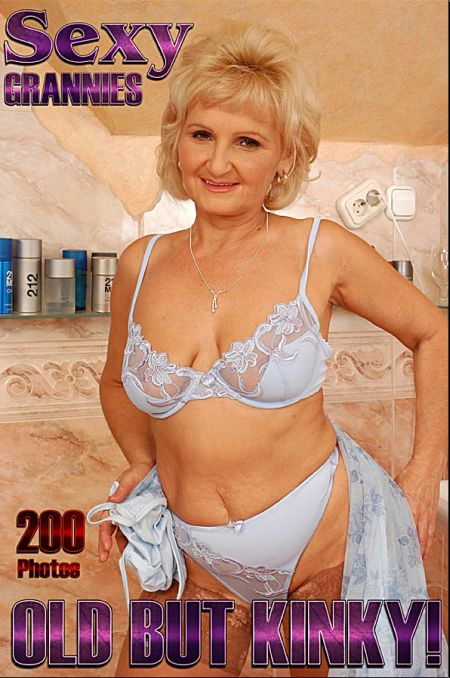 Sexy Grannies Adult Photo Magazine - Volume 7 (2018)