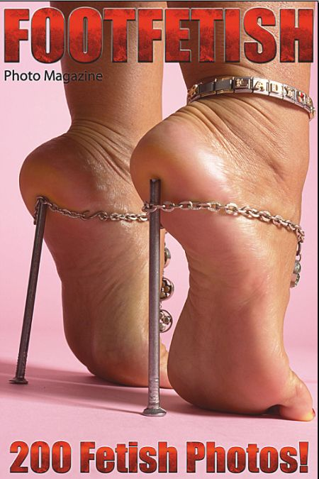 Foot Fetish Adult Photo Magazine (January 2019)