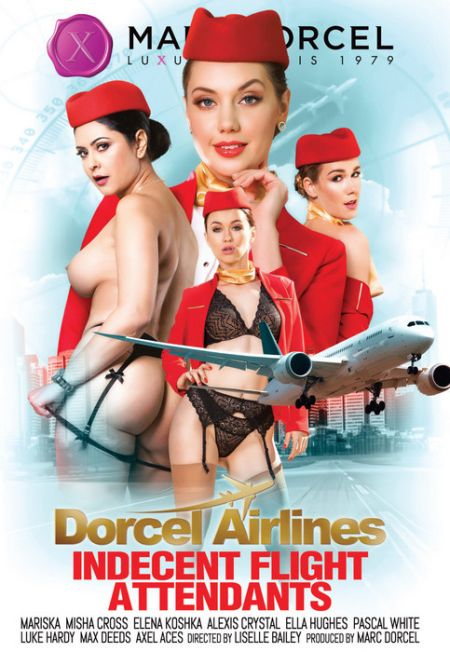 Dorcel Airlines - Indecent flight attendants [2019]