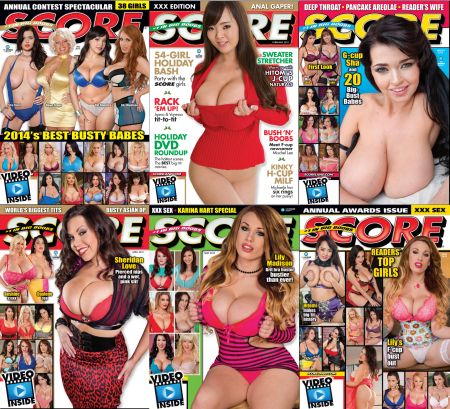 Score Magazine - Full Collection