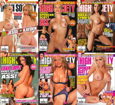 High Society 2012 Full Year Issues Collection