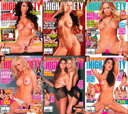 High Society 2013 Full Year Issues Collection
