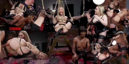 Aiden Starr, Ana Foxxx, Chloe Cherry - Ana Foxxx Demoted at The Sadists & Swingers Halloween Ball [2019]