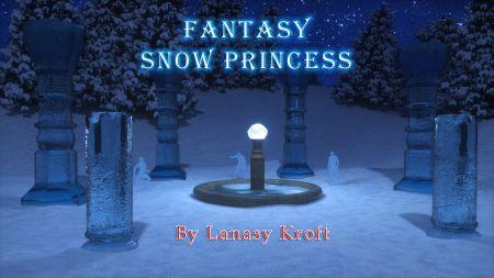 Fantasy Snow Princess