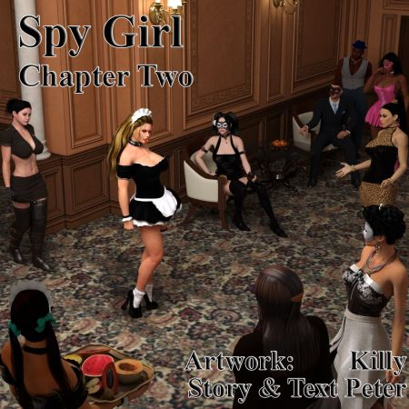 Comics porno - Spy Girl 2