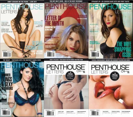 Penthouse Letters - Full Year 2019 Issues Collection
