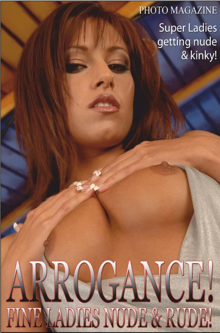 Arrogance Adult Photo Magazine (March 2021)